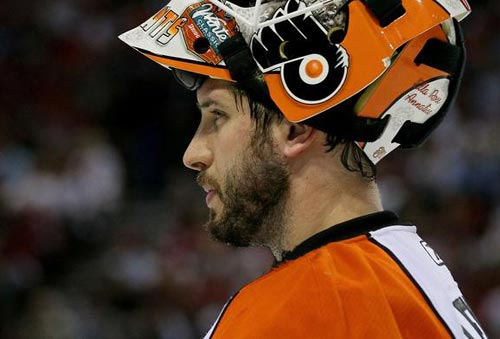 Michael Leighton, Flyers Goalie