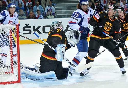 Handzus at IIHF WC 2011